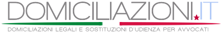 Domiciliazioni Avvocati :: Ricerca Avvocati Domiciliatari per Sostituzioni Legali