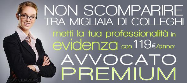 Promozione Primavera - Avvocati in EVIDENZA con gli Annunci PREMIUM