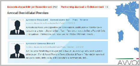 Esempio Annuncio Avvocato in EVIDENZA con Annunci Premium